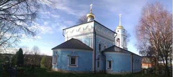 Благовещенский храм, г.Москва, село Сальково